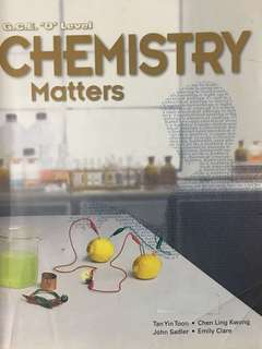 O level Chemistry Matters Textbook