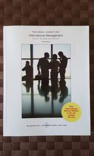 International Management Textbook BUS 344 / 323 Murdoch University