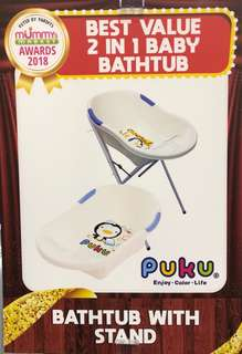 Preloved - Puku bath tube with stand