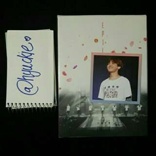 BTS Epilogue DVD with Jhope photocard