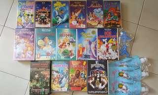 Vintage Disney Movie Videos