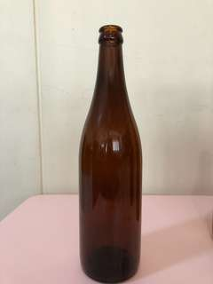 Amber bottle for home brewing