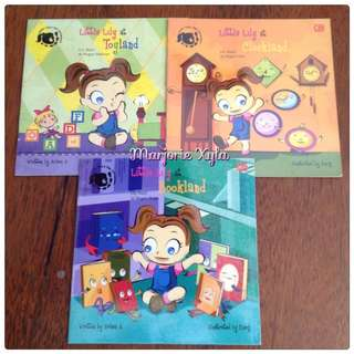 Paket Buku Cergam Dwibahasa - Little Lily S Big Adventure