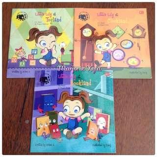 Paket Buku Cergam Dwibahasa - Little Lily S Big Adventure