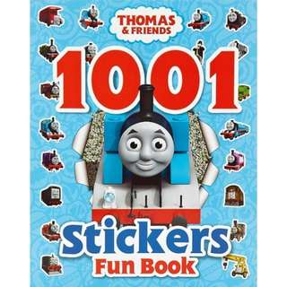 BN Thomas & Friends 1001 Stickers Fun Book * Free Postage*