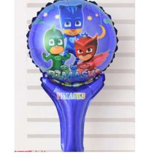 (In Stock)PJ Mask Handheld Baloon