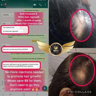 Anti Hair Loss Pure Ginger Shampoo