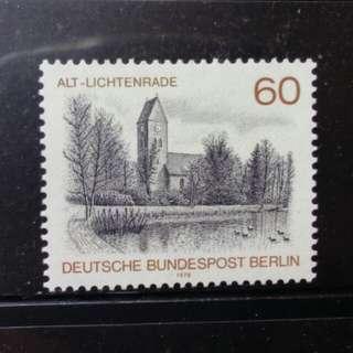 [lapyip1230] 西柏林(西德) 1978年 柏林風景 新票 Mint