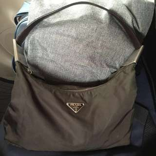 Giveaway Sale!Preowned Authentic Prada Nylon Hobo Bag