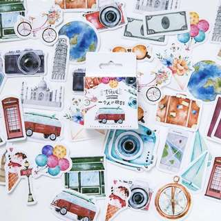 (PO) Travel The World Stickers
