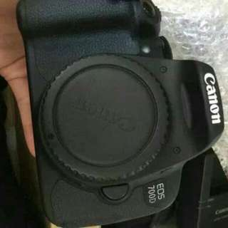 Kamera Canon 700 D Second