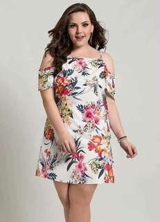 New Arrival: Floral Plus Size Dress