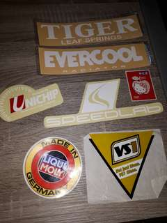 Brands car stickers set 2
