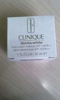 Clinique Derma White Fluid Cream Foundation [ code: 05 neutral]