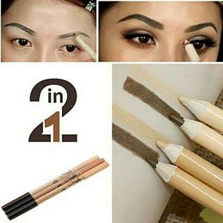 Real Fire Menow Eyebrow Pencil and Concealer
