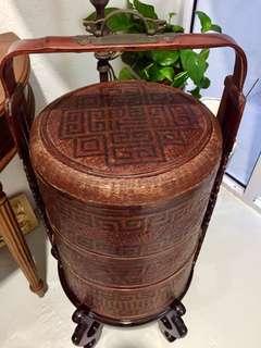 Elaborate antique basket