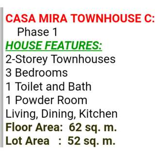 Brand New Townhouse Casa Mira Linao