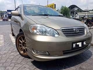 Toyota Altis 1.8 Facelift