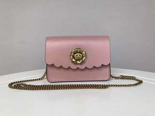 Coach Bowery Crossbody with Tea Rose Turnlock - pink