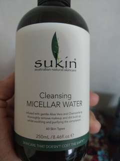 Sukin - cleansing Micellar water