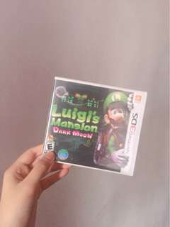 luigi's mansion dark moon 3ds game