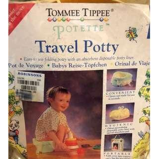 TRAVEL POTTY- foldable