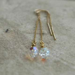 Swarovski Threader Earrings