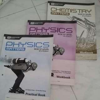 Physics Amd Chemistry O Level Books