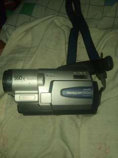 handy videocam sony old model