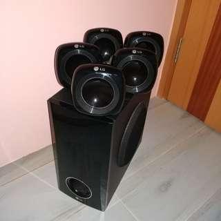 5.1 音響 LG