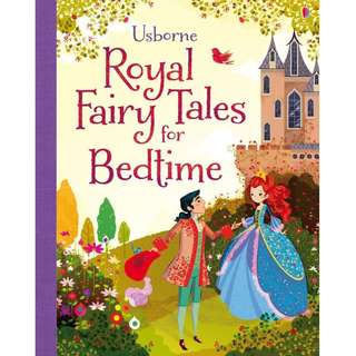 BN Usborne Royal Fairy Tales for Bedtime