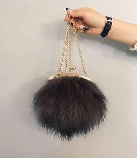 Fur Sling Bag