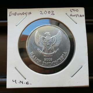 500 Rp/Indonesia Coin.
