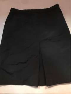 黑色上班短裙