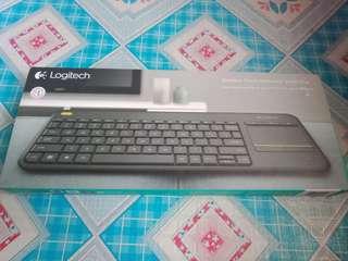 Brandnew logitech wireless touch keyboard k400 plus