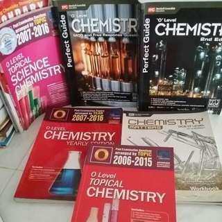Chemistry O Level Books