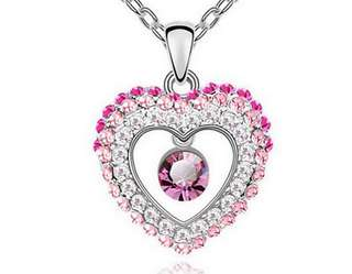 Womens Heart Necklace