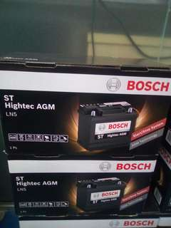 Car Battery AGM LN5 Bosch Battery 92AH 850CCA                             要买就买有品质保证的货品👌                                                             Get quality goods👍                                                                       Cash and Carry
