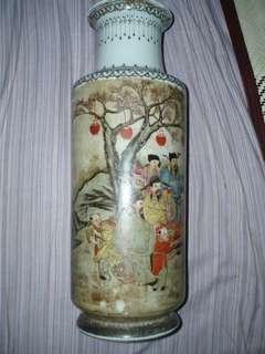 清 乾隆 花瓶
