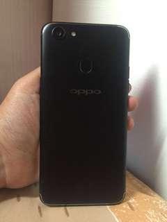 Oppo F5 black 4/32 fullset mulus like new