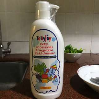 Tollyjoy baby accessories &vegetables liquid cleanser