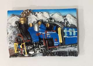 "Himalayan Toy Train's Fridge Magnet 1.9""x2"""