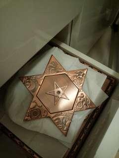 水晶宮風水銅板