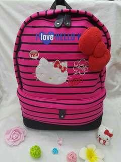 Hello Kitty  Bagpack 15inch.    570php   #CY