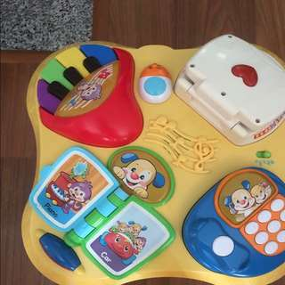 Fisher Price Study Learning Table