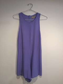 Purple jumpsuit Astore