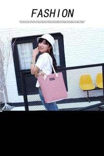 Korean stripe bag