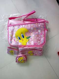 Tweety bag set