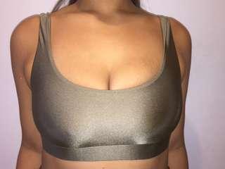 Size 10 | Khaki Bikini Top