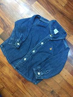 Baby Gap Denim Polo ♥️😍